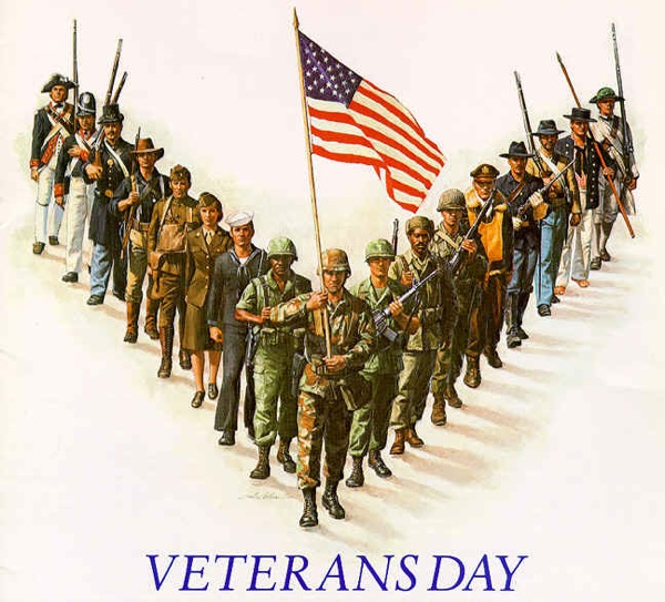 To the Veterans who read MAKE – Thanks for your service