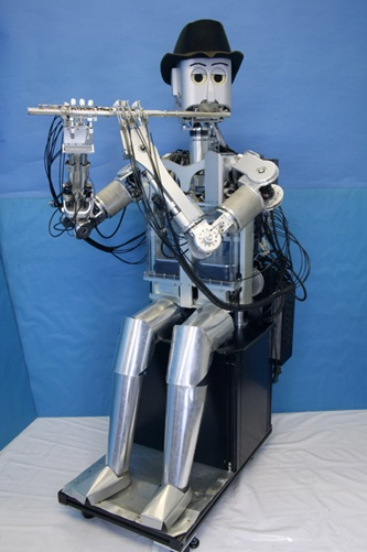 WF-4RIV – The flute playing robot