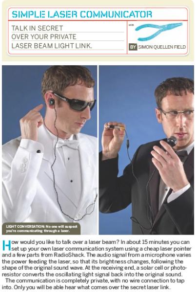 Weekend Project: Simple Laser Communicator (PDF)