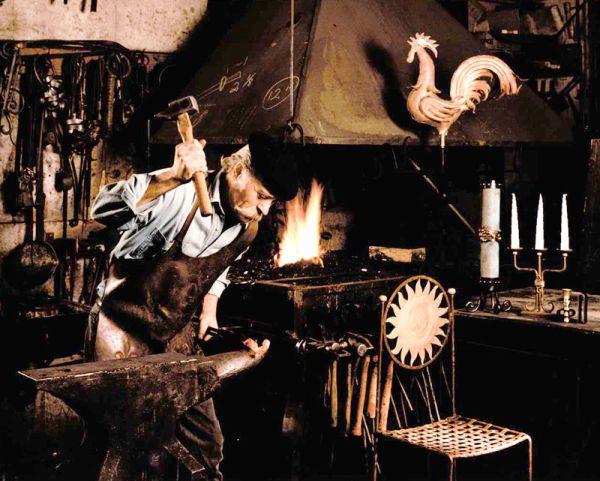 Learning blacksmithing basics