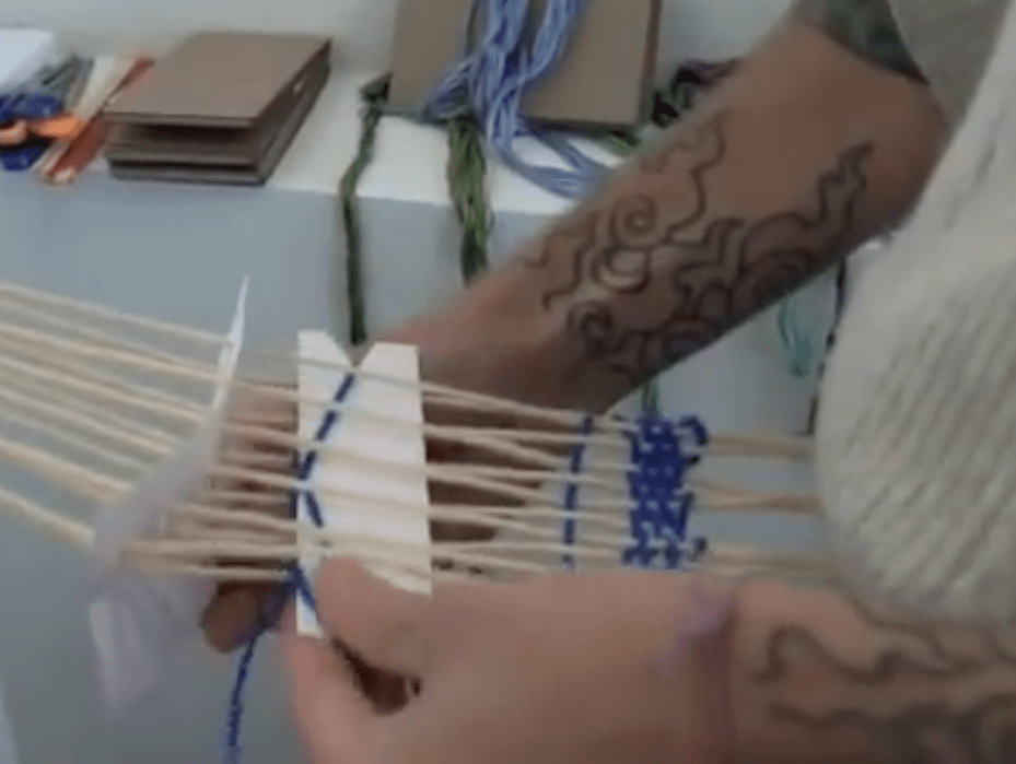 Learn How To Weave with Paper Index Cards – CRAFT Video Podcast