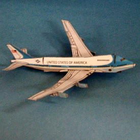 Air Force One papercraft