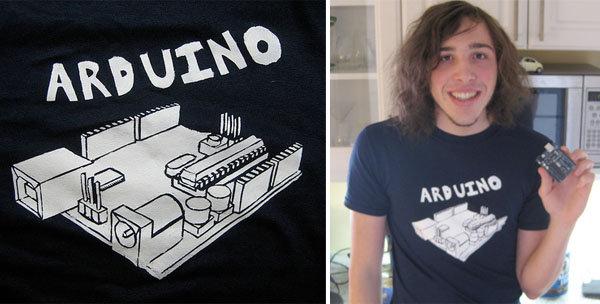 Arduino shirt!