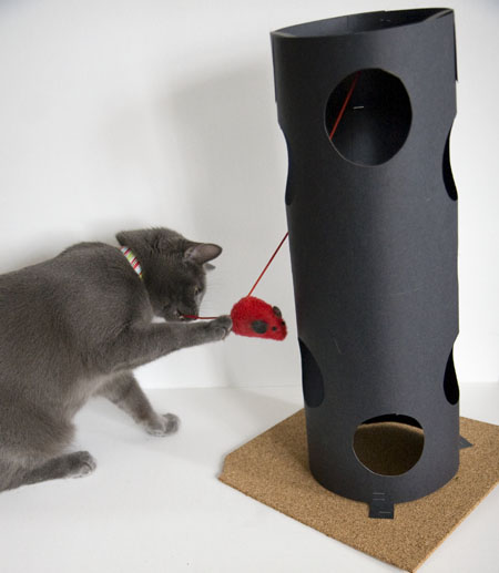 HOW TO – Cheap & Easy Cat Tower Toy