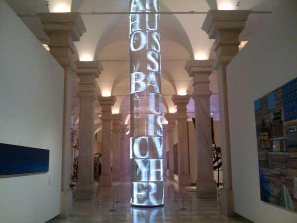 Jenny Holzer's For SAAM – awesome LED sculpture
