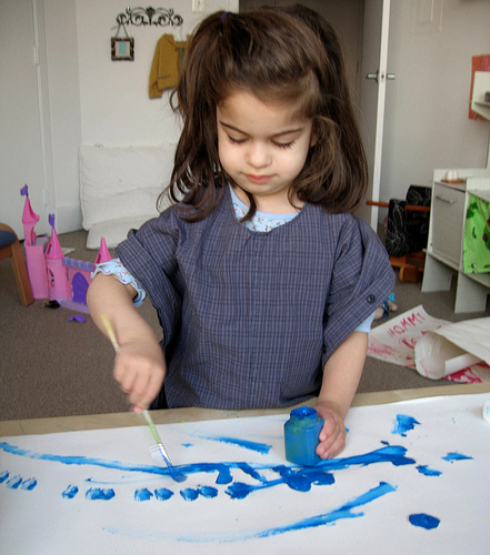 HOW TO – Sew a Simple Kids' Art Smock From a Man's Shirt