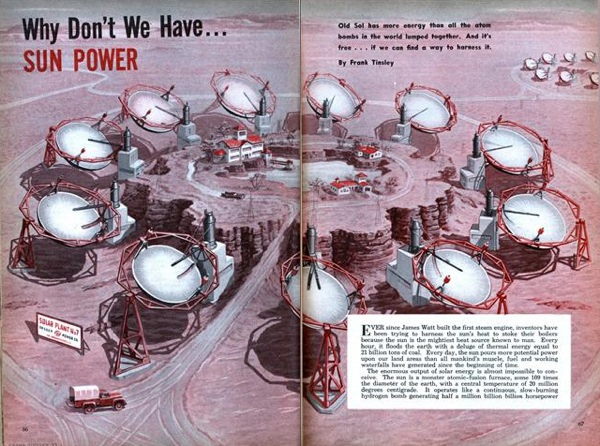 Why don't we have… SUN POWER – 1953