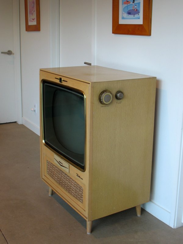 Vintage television acquired
