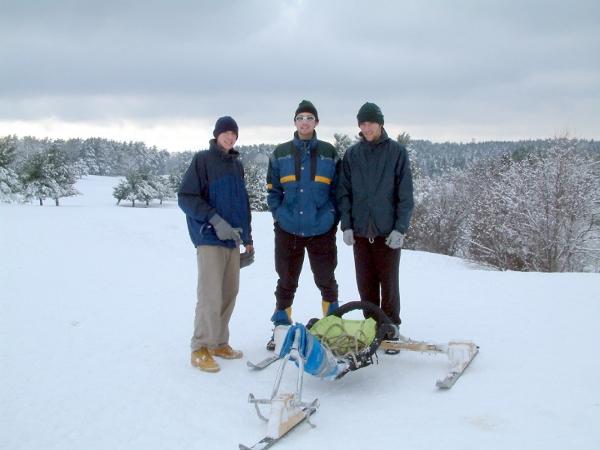 Kite Buggy Skis