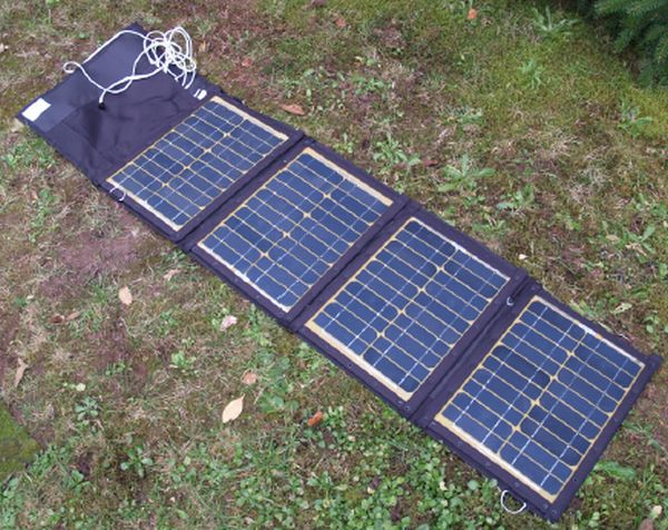 Solar power for your electronics gear