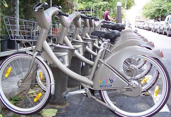 The bicycle diaries: Vélib'