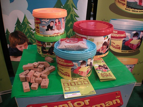 Junior Tradesman – A bucket of bricks