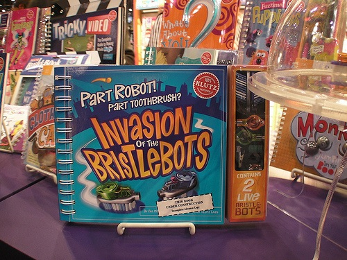 """Sad day for makers – unauthorized book from Klutz and Scholastic """"BristleBots"""" (update)"""