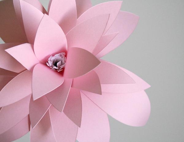 A.M. Eye Candy – A Little Hut's Paper Flower Project