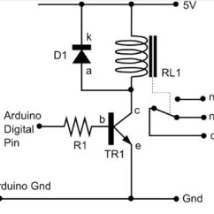 Spotlight Wiring Diagram With Relay Receptacle To Switch Light Connecting A Arduino | Make: