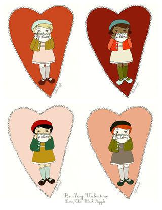 The Black Apple Valentine's Day Cards