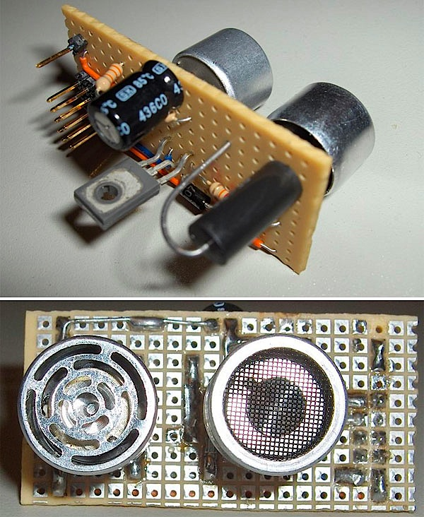 How To – DIY ultrasonic rangefinder