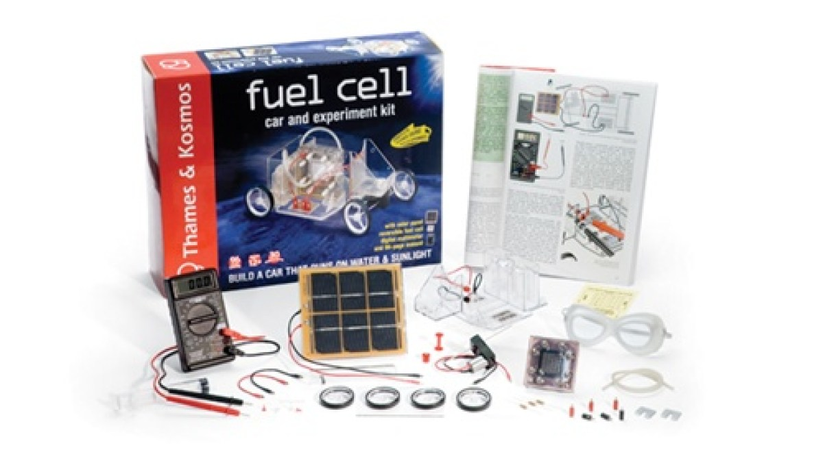 HOW TO - Make a fuel cell powered car | Make: