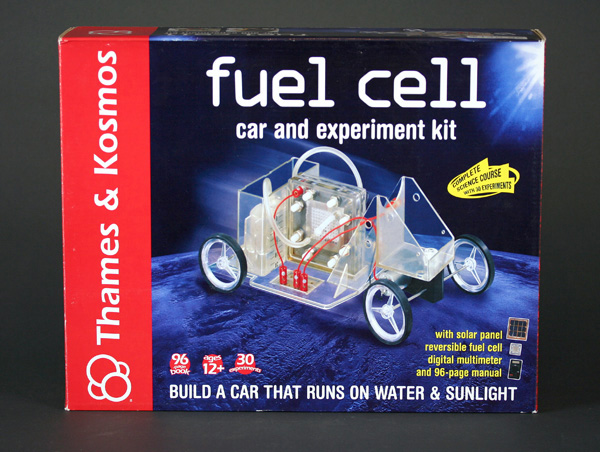 In the Maker Shed: Fuel Cell Car & Experiment Kit