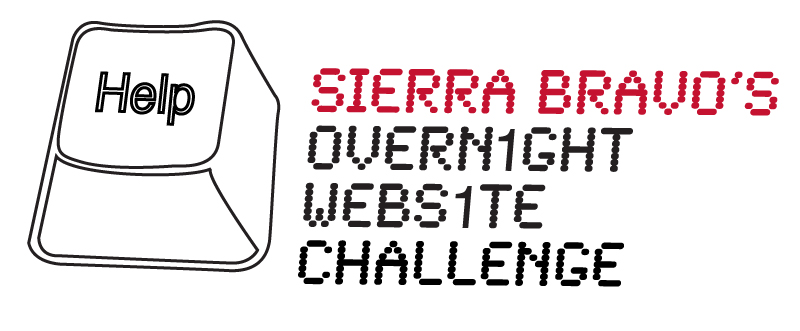 Sierra Bravo's Overnight Website Challenge