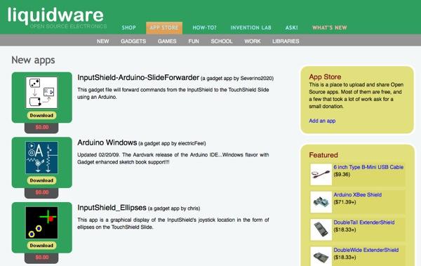 Liquidware app store