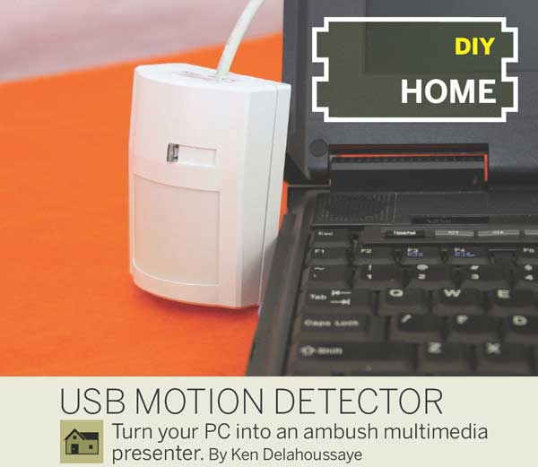 Linux drivers for USB Motion Detector from Make: 16
