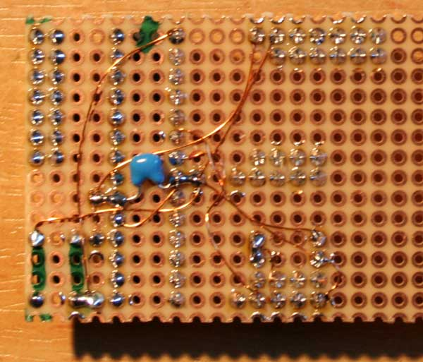 Wiring prototyping boards with thin copper wire