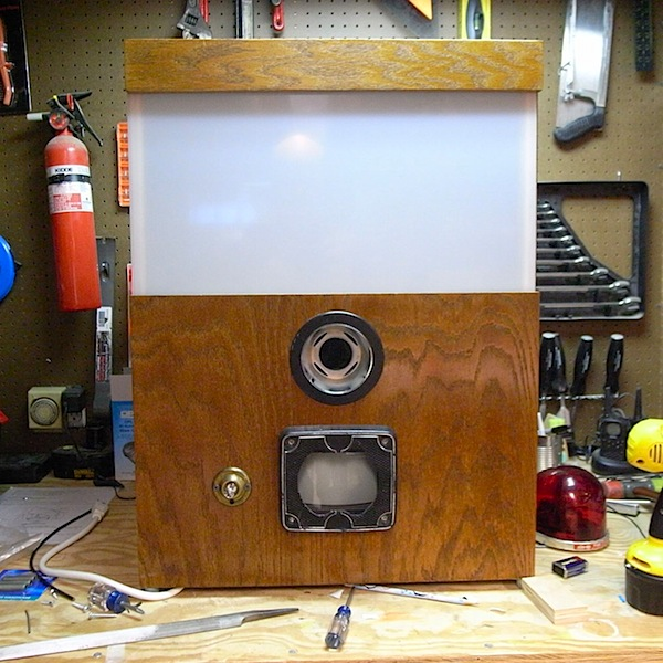 DIY photobooth looks classic