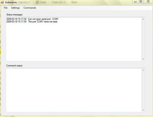 Gobetwino links Arduino to Windows software