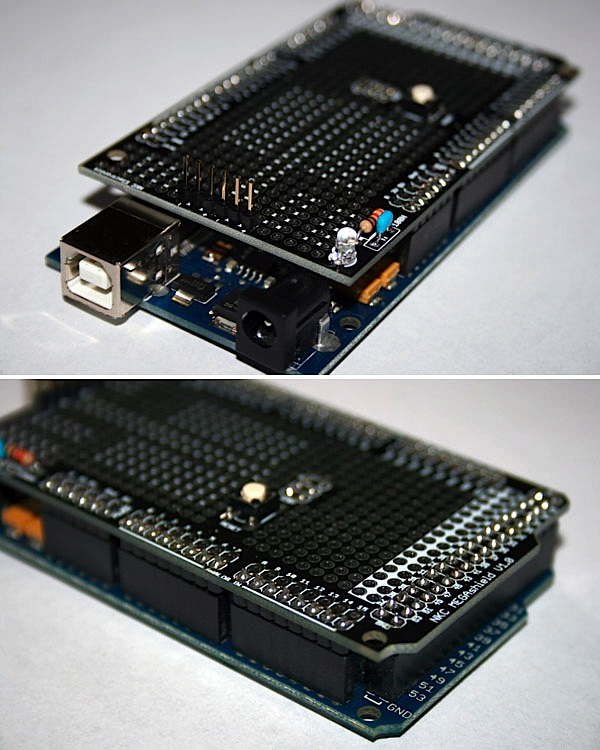 First shield pics for Arduino MEGA