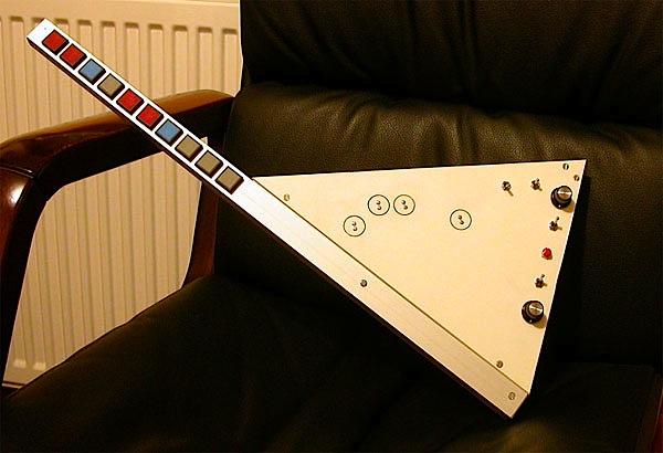 Arduinocaster shreds in MIDI