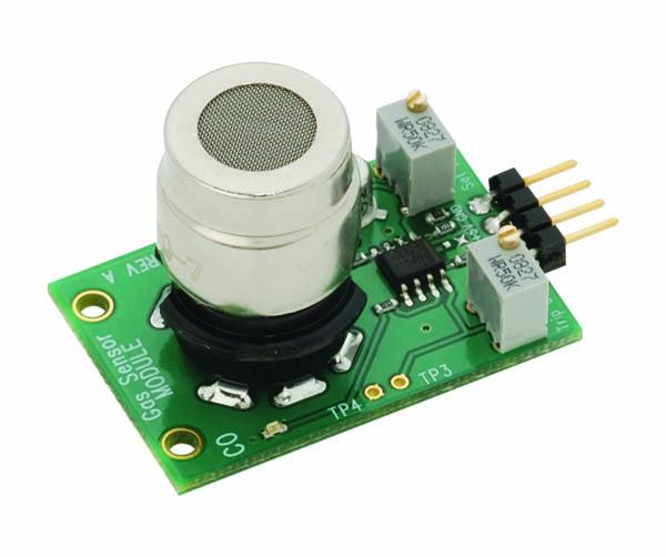 New Parallax gas sensing module