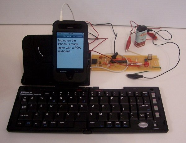 External keyboard for iPhone from our own iPhone Hacks–no jailbreaking needed!