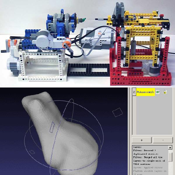 LEGO NXT 3D scanner