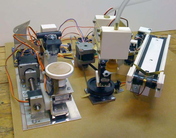 Nickel-O-Matic printing robot