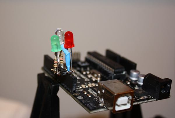 LED cluster for Arduino testing