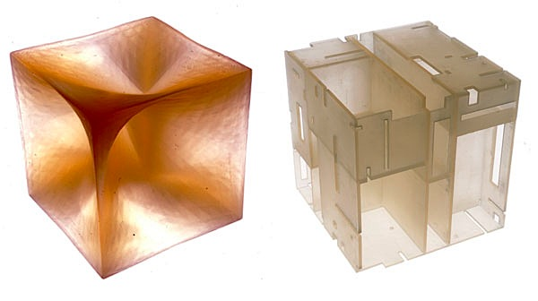Experiments in stereolithography