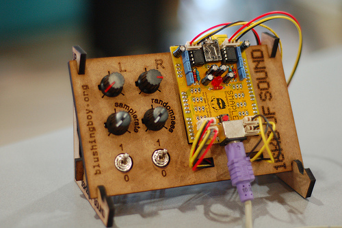Snap-together Arduino control panels