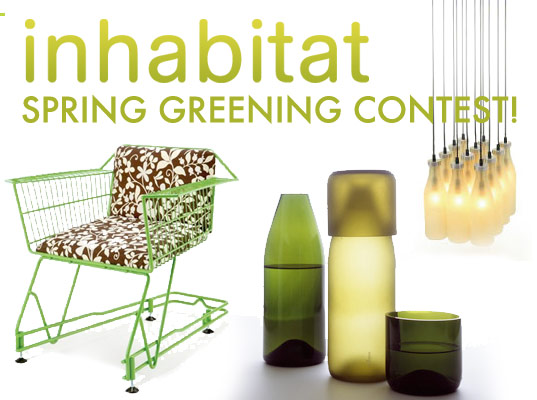 Inhabitat's Spring Greening contest – last call