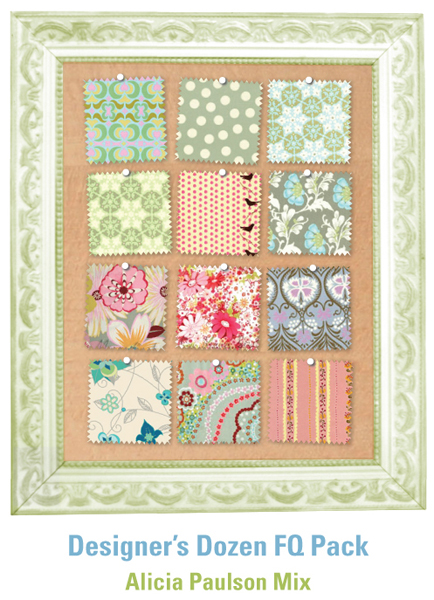 Alicia Paulson's Guest Fat Quarter Pack at Sew, Mama, Sew