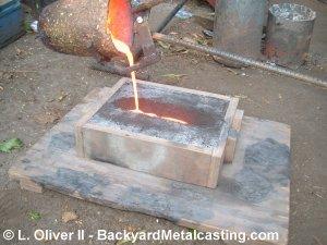 Backyard Metal Casting