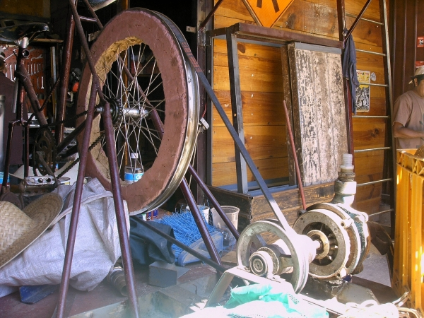 Cob flywheel