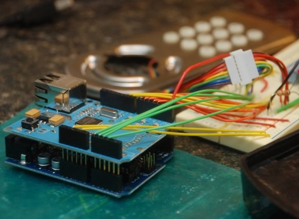 DHCP library for Arduino Ethernet shield