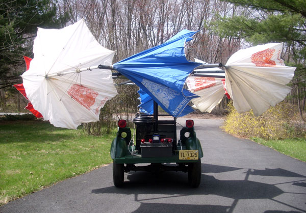 The EH umbrella-mobile