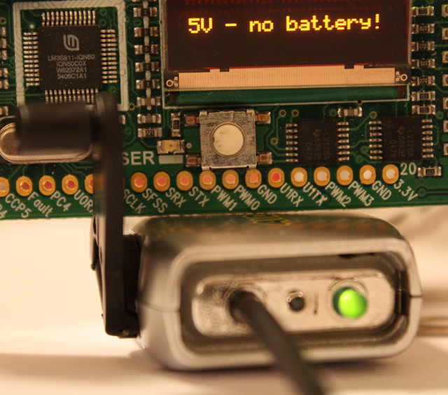 Battery-free 5-volt project power