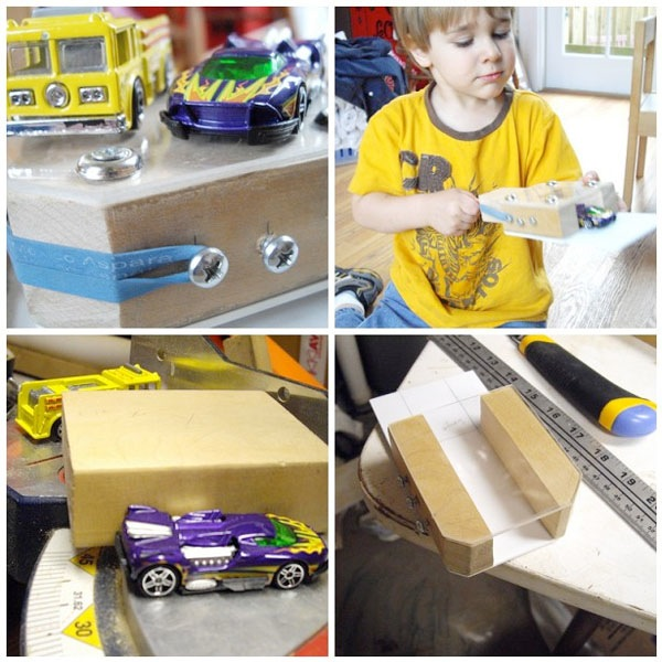 How-To: Make a toy car launcher