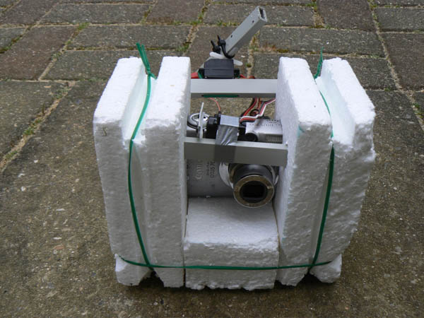 Hydrogen balloon camera project