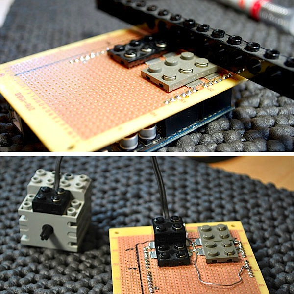 Lego motor shield for Arduino