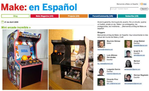 Announcing Make: en Español