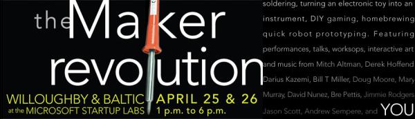 Maker Revolution this weekend in Cambridge